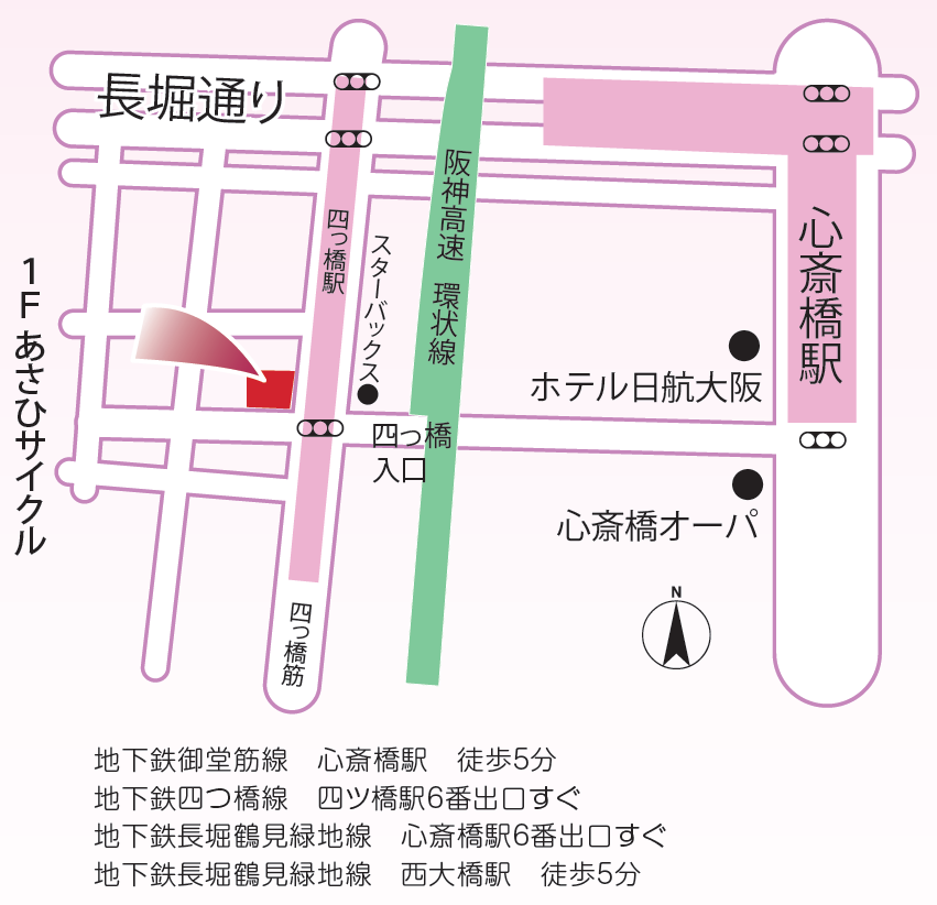 上嶋内科・消化器科クリニックのマップ